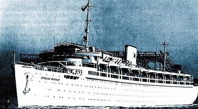 Tak wyglądał w czasach świetności statek Wilhelm Gustloff. Niemiecki okręt został zatopiony pod koniec II wojny światowej. Była to największa katastrofa morska w dziejach.