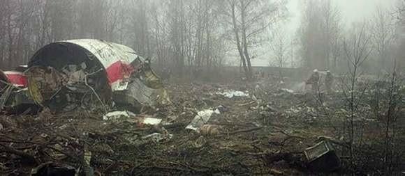 Rozbity samolot rządowy