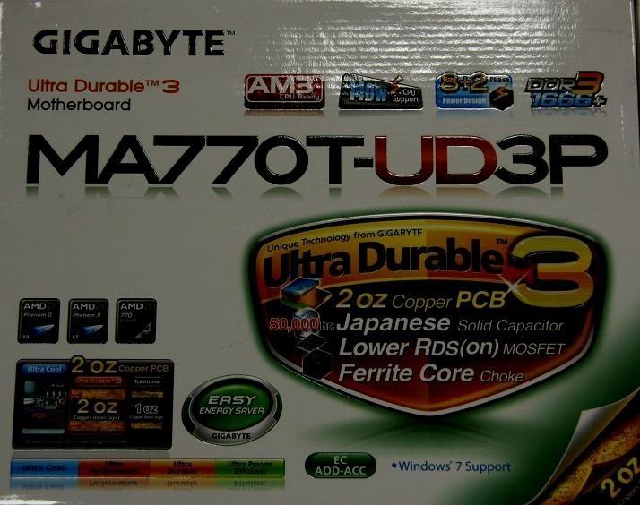 Płyta Gigabyte MA770T-UD3P do wygrania.