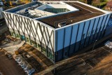 Budowa Biblioteki Uniwersyteckiej w Białymstoku na ukończeniu. Studenci skorzystają z niej już niedługo (zdjęcia)