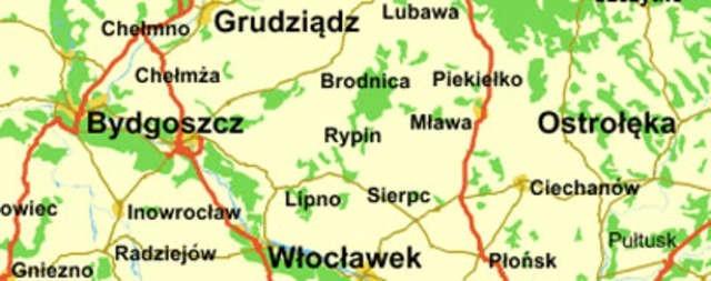 Mapy Bez Torunia Nowosci Dziennik Torunski