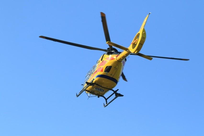Wypadek w Łosiowie. 12-latek na rowerze wjechał pod koła bmw