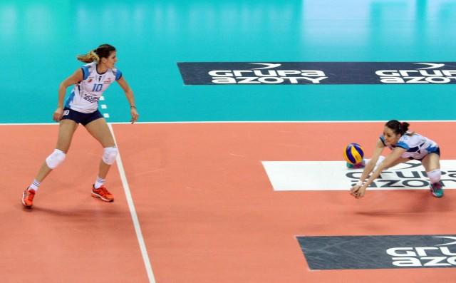 Maja Ognjenović (broni) zdaniem Bogdana Serwińskiego jest jedną z najlepszych rozgrywających świata.