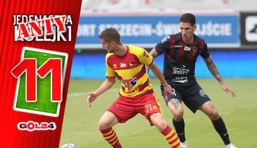W 23. kolejce słabo zaprezentowali się piłkarze Pogoni,...