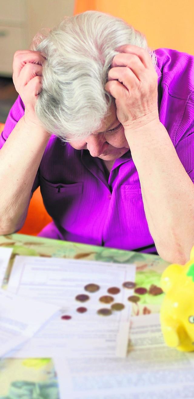 Emerytury głodowe to zmora wielu emerytów