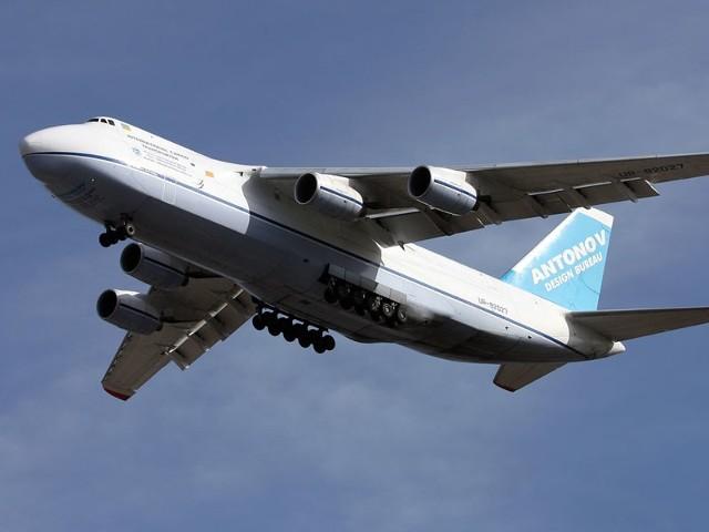 Przy Rusłanie samoloty, które lądują na co dzień w Jasionce, będą wyglądać jak zabawki.
