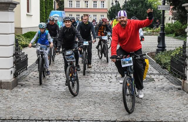 """Rowerzyści z Bydgoszczy często włączają się w różne akcje. Pewnie nie zawiodą także w walce o """"Rowerową Stolicę Polski"""""""
