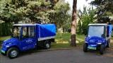 Bydgoski KPEC pochwalił się dwoma nowymi samochodami elektrycznymi [zdjęcia]