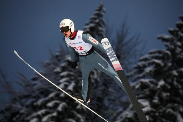 Mistrz świata Piotr Żyła skacze dziś w Oberstdorfie w konkursie drużyn mieszanych