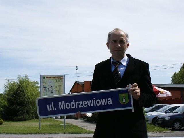 Mieczysław Misiaszek - wójt gminy Kijewo Królewskie.