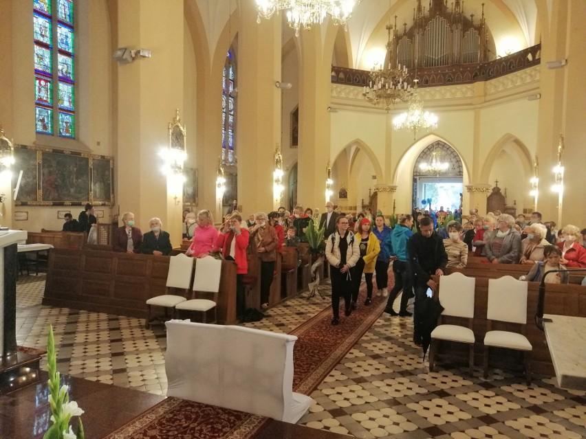 Ostatnia w 2020 roku piesza pielgrzymka do Sanktuarium w Charłupi Małej