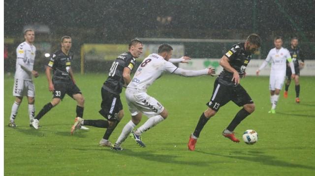 Piłkarze GKS-u Katowice zajmują przedostatnie miejsce w Fortuna 1. Lidze.