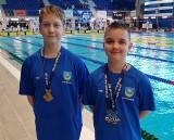 Złote medale dla Alberta Borkowskiego i Igora Majewskiego z UKS Delfin Tarnobrzeg na Otylia Swim Cup. Sukces młodych pływaków