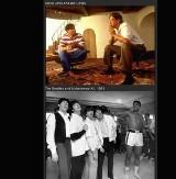 Te zdjęcia musisz zobaczyć! Michael Jackson uderza Mr. T, Mohammad Ali sparuje z The Beatles, Madonna na drinku z 2Pac'iem i Stingiem... [zdjęcia]