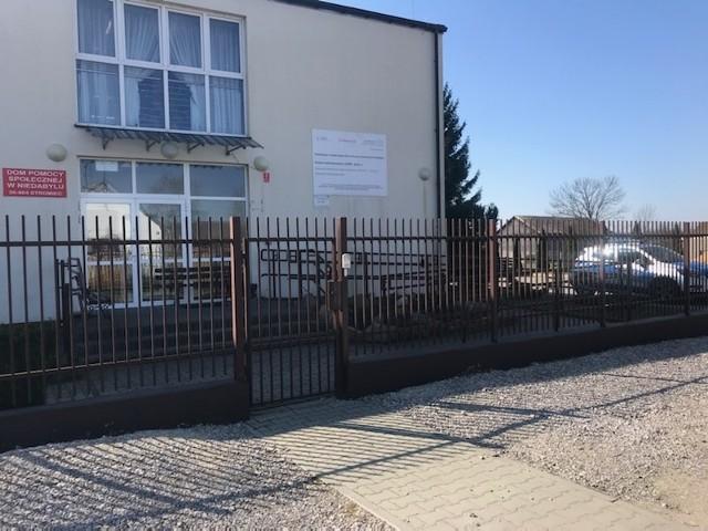 Od wtorku kwarantanną zostali objęciu podopieczni i personel Domu Pomocy Społecznej w Niedabylu w gminie Stromiec.