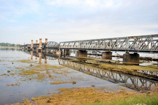 Most Tczewski w 2010 roku.