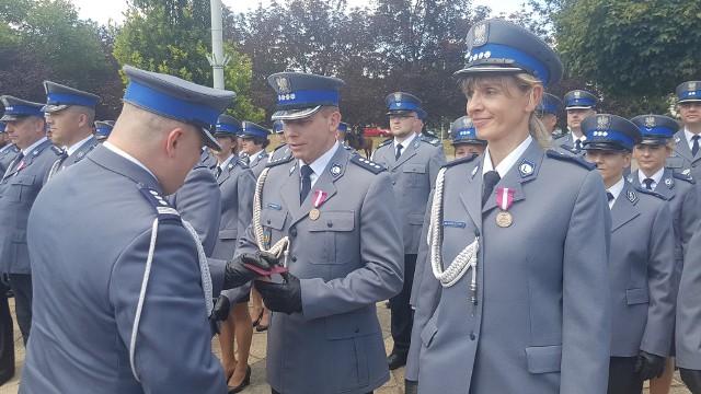 Święto Policji 2018 w Łódzkiem. Wojewódzkie obchody święta policji odbyły się w Zgierzu