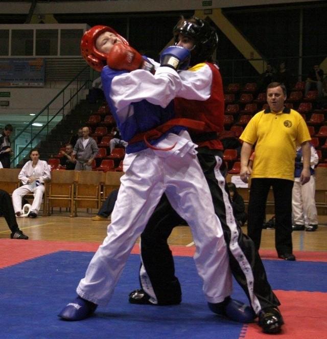 Otwarte Mistrzostwa Polski w Teakwondo 2008. Zawody rozegrano w hali Okrąglak w Opolu