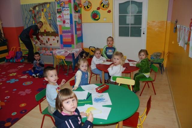 Osięciny - maluchy w przedszkolu