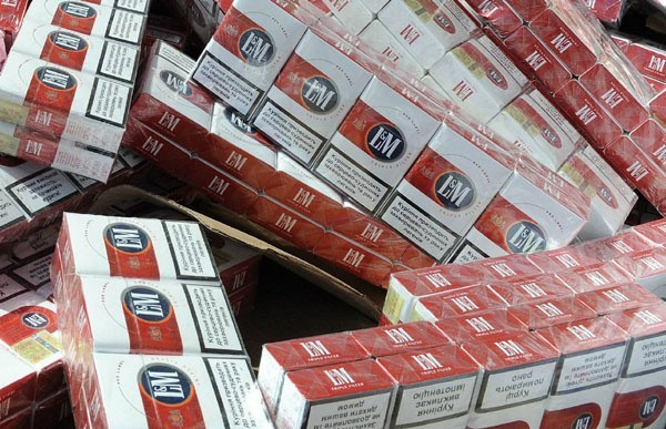 Wartość złowionych papierosów to ponad 10 tysięcy zł.
