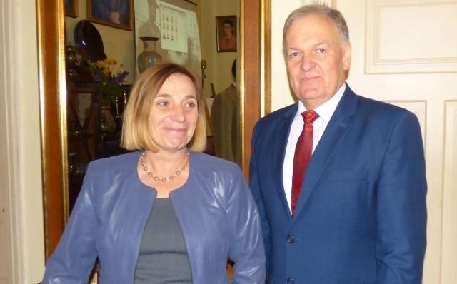 Komandor rajdu Marek Krupa zaprosił profesor Jolantę Doschek z Wiednia na przyszłoroczną imprezę w Kazimierzy Wielkiej.