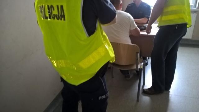Policja zatrzymała 37-latka ze Szprotawy.