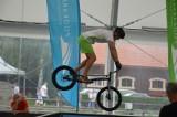 """Krystian Herba """"latał"""" na rowerze w Bałtowie. Zobaczcie niesamowite ewolucje rekordzisty Guinnessa (ZDJĘCIA)"""