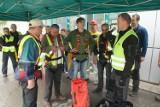 W Trzuskawicy ewakuowano pracownika z wysokości