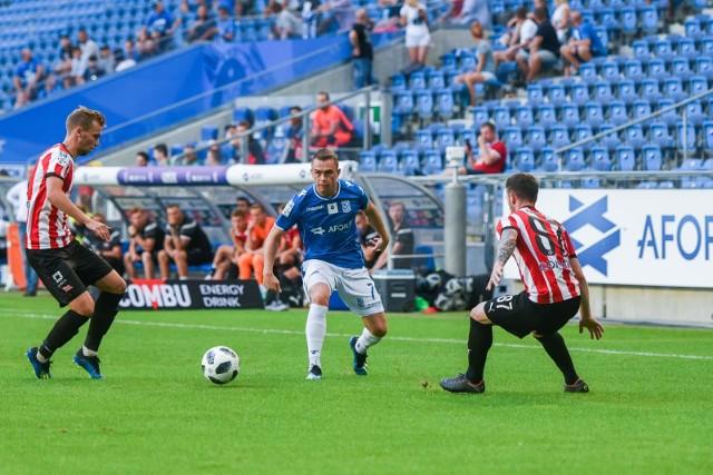 W pierwszym meczu sezonu Lech pokonał Cracovię 2:0