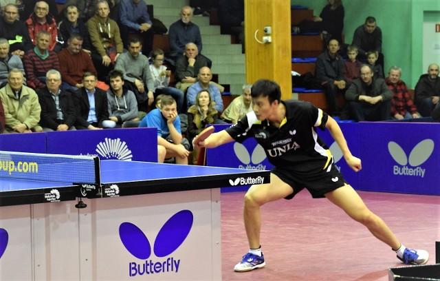 Wang Yang, Chińczyk ze słowackim paszportem, dobrze znany grudziądzkim kibicom tenisa stołowego