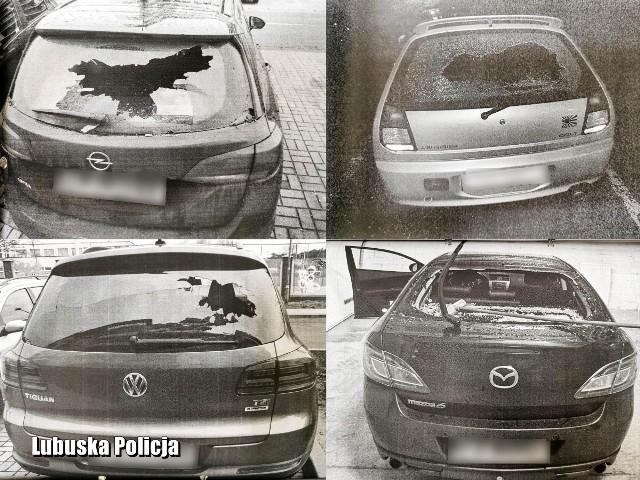 Policjanci z Komisariatu II Policji zatrzymali trzech nastolatków, którzy w grudniu 2020 roku zniszczyli 18 samochodów zaparkowanych na osiedlowych ulicach