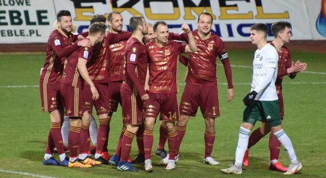 Chojniczanka Chojnice wygrała z drugą drużyną Śląska Wrocław 6:0 w pięknym stylu