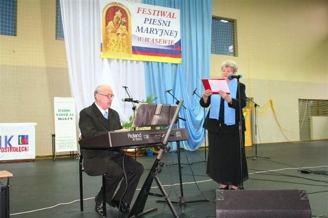 Tak śpiewano w Wąsewie przed rokiem, na I Festiwalu Pieśni Maryjnej.
