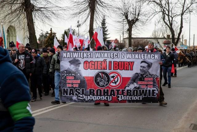 Hajnowski Marsz Pamięci Żołnierzy Wyklętych budzi wiele emocji.