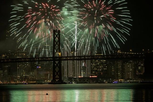 Pokaz fajerwerków w San Francisco