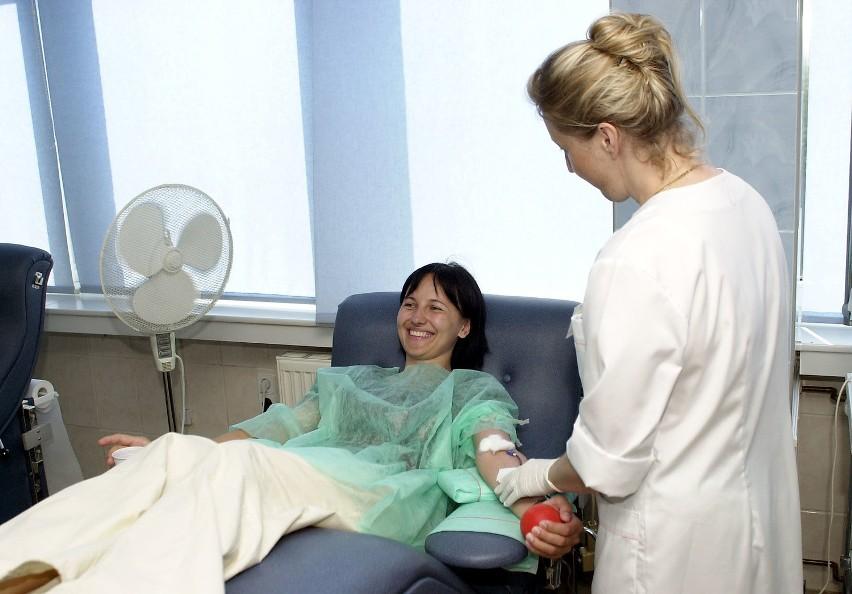 Beata Łabiak z Izby Celnej, tak jak jej koleżanki i koledzy, zdecydowała się wczoraj na oddanie krwi.