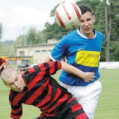 Supraślanka (z prawej Tomasz Tupalski) liczy na awans do I rundy Pucharu Polski
