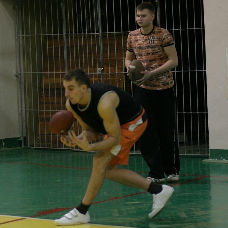 Słupscy zawodnicy podczas treningu