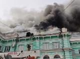 Rosja: horror w płonącym szpitalu. Kiedy strażacy gasili ogień, lekarze prowadzili operację na otwartym sercu