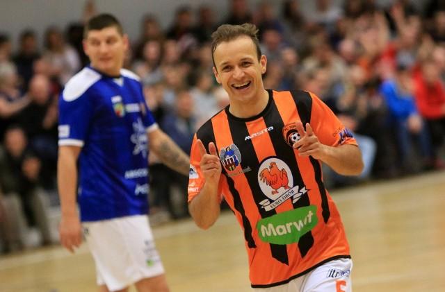 Cleverson Pelc błyszczy skutecznością. W tym sezonie strzelił już siedem goli dla FC Toruń