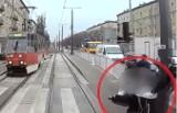 Kobieta w ciąży wbiegła pod tramwaj w Częstochowie. Szokujące nagranie z kabiny motorniczego. Mogła zginąć razem z nienarodzonym dzieckiem