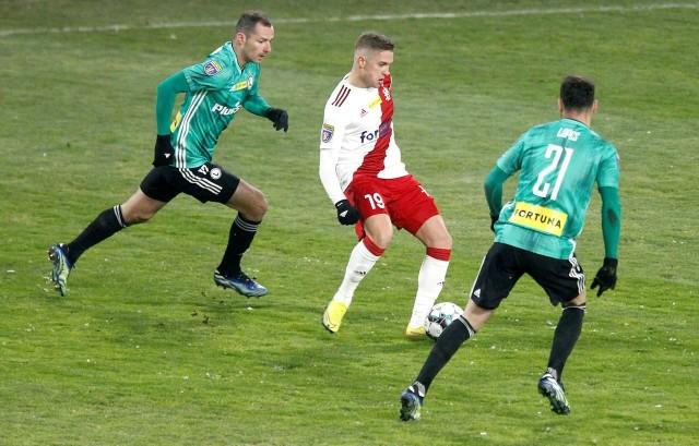 Michał Trąbka to obecnie ważny zawodnik dla ŁKS
