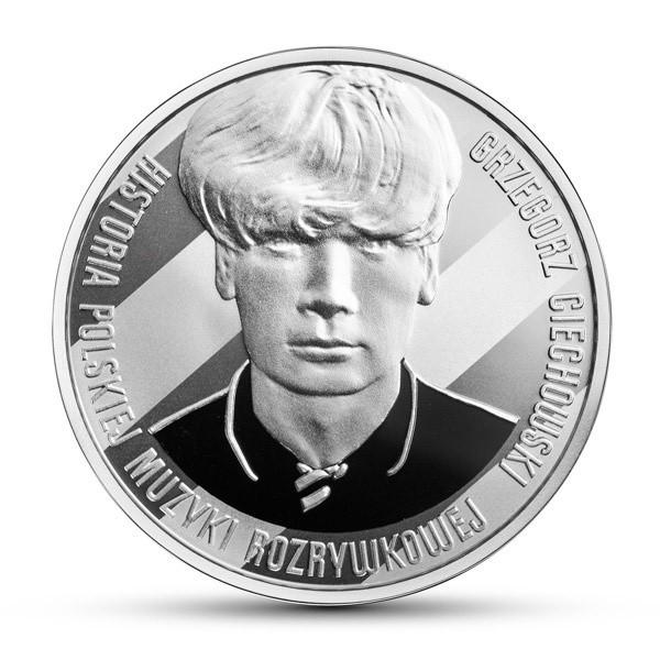 Monety z Grzegorzem Ciechowskim