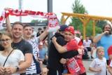 Polska - Szwecja. Radość i łzy w Strefie Kibica Libero Katowice. Kibice wierzyli do końca