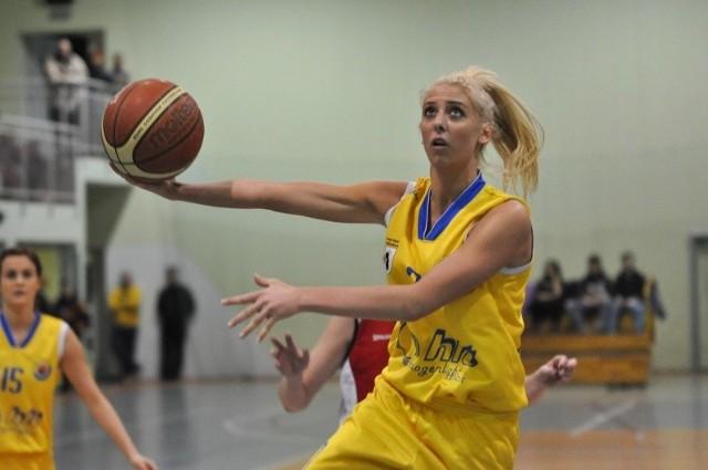 Aleksandra Nowak zdobyła w dwóch meczach turnieju półfinałowego 20 punktów dla ekipy z Głuchołaz.