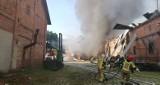 Śledztwo w sprawie pożaru w Lubuczewie. Poparzony Ukrainiec w ciężkim stanie