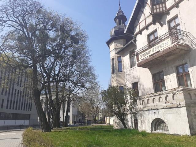 Willa przy ul. Grudziądzkiej 53.
