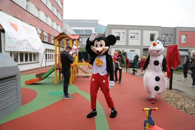 Otwarcie placu zabaw przy UDSK w Białymstoku