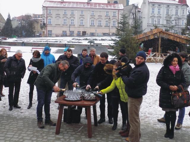 Uroczyste przypieczętowanie powstania Przemyskiego Klastra Turystycznego.