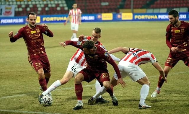 Chojniczanka Chojnice po 23 meczach ma w dorobku 47 punktów w tabeli eWinner 2 Ligi